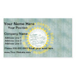 Retro Vintage South Dakota Flag Double-Sided Standard Business Cards (Pack Of 100)