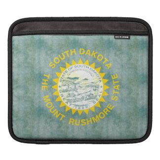 Retro Vintage South Dakota Flag iPad Sleeves