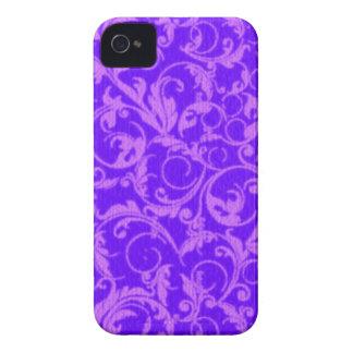 Retro Vintage Swirls Amethyst Purple Case-Mate Case-Mate iPhone 4 Case
