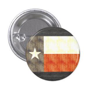 Retro Vintage Texas Flag Pinback Button