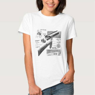 Retro Vintage Toy 'Build a Clatter Gun' Tee Shirt