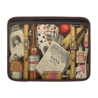 Retro Vintage Travel Suitcase Macbook Air MacBook Air Sleeve