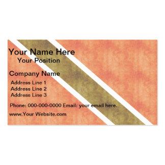 Retro Vintage Trinidad and Tobago Flag Business Card