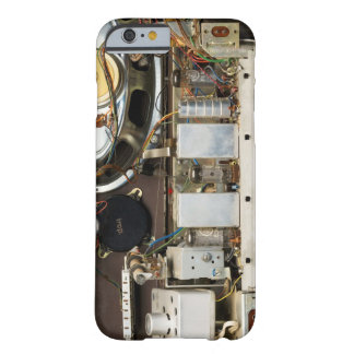 Retro Vintage Tube Radio Barely There iPhone 6 Case