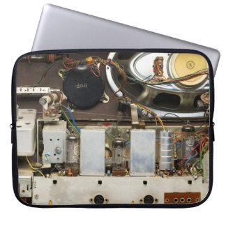 Retro Vintage Tube Radio Laptop Sleeve