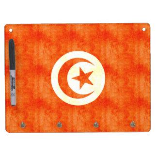 Retro Vintage Tunisia Flag Dry-Erase Whiteboards