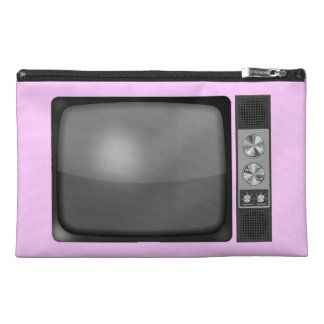Retro Vintage TV Set Travel Accessories Bags