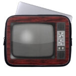 Retro Vintage TV Set Computer Sleeve