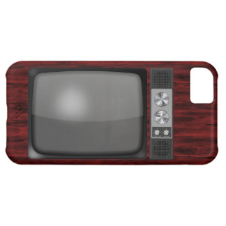 Retro Vintage TV Set iPhone 5C Cover
