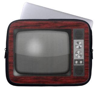 Retro Vintage TV Set Laptop Computer Sleeves