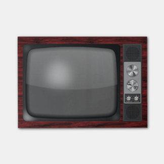 Retro Vintage TV Set Post-it® Notes