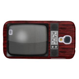 Retro Vintage TV Set Samsung S4 Case