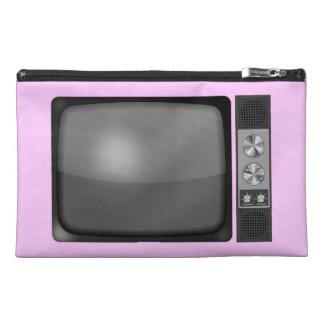 Retro Vintage TV Set Travel Accessory Bags