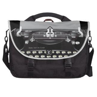 Retro Vintage Typewriter Machine Laptop Bag