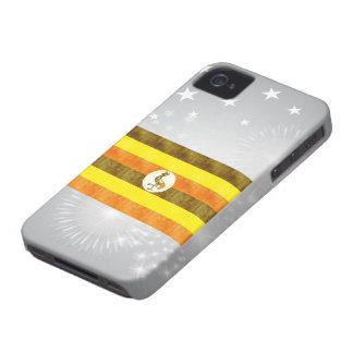 Retro Vintage Uganda Flag iPhone 4 Case