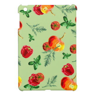 Retro Vintage Vegetables Case For The iPad Mini