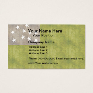 Retro Vintage Vermont Republic Flag Business Card