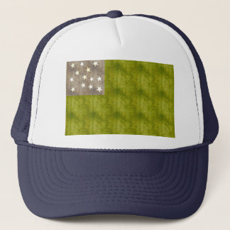 Retro Vintage Vermont Republic Flag Trucker Hat