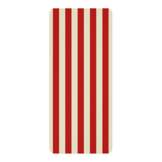 Retro Vintage Vertical PopCorn Classic Stripes Invites