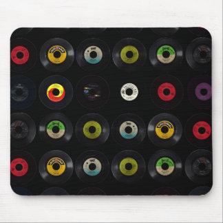 Retro Vintage Vinyl 45 Records Mouse Pads