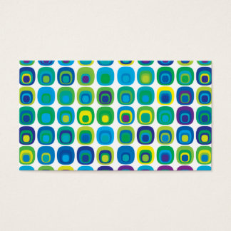 Retro Vintage Wallpaper Pattern Business Card