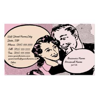 Retro Vintage Wedding Business Business Card