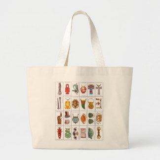 Retro Vintage Wills's Cigarette Cards Lucky Charms Tote Bag