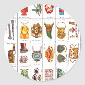 Retro Vintage Wills's Cigarette Cards Lucky Charms Stickers