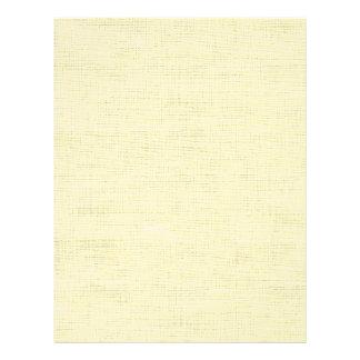 Retro Vinyl in Ivory (Scrapbook Paper) Letterhead