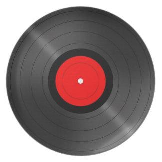 Retro Vinyl Plate