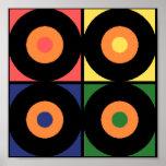 Retro Vinyl Pop Print