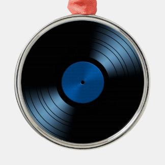 Retro Vinyl Record Album Metal Ornament