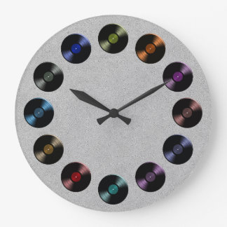 Retro Vinyl Record Album Wall Clock