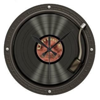 Retro Vinyl Record Music Wall Clock