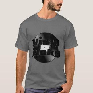 Retro Vinyl Record Vinyl Junky T-Shirt