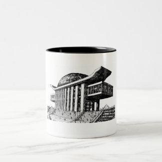 Retro vision 2 Two-Tone coffee mug