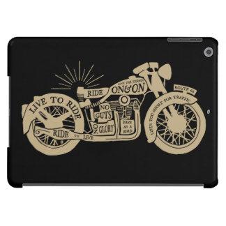 Retro viva para montar la motocicleta del vintage