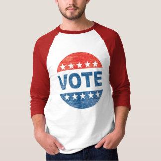 Retro Vote Baseball Shirt