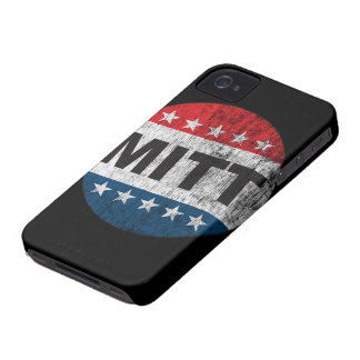 Retro Vote Mitt Romney 2012 iPhone 4 Case