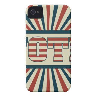 Retro voting gear Case-Mate iPhone 4 case