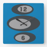 Retro Wall Clock - Changeable Background Color!