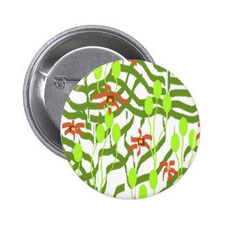 Retro Wallpaper - Broadhurst inspired Button