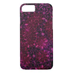 Retro Wallpaper Flowers IPhone 8 7 Case