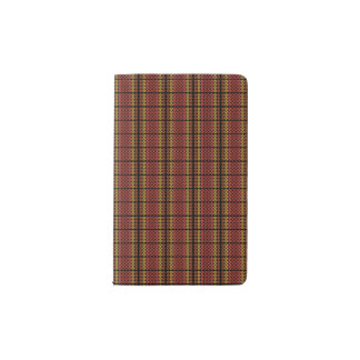 Retro Warm Circles Pocket Moleskine Notebook
