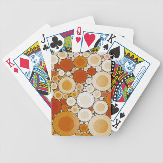 Retro Warm Pattern Bicycle Playing Cards