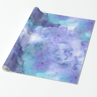 Retro Watercolor Texture Wrapping Paper
