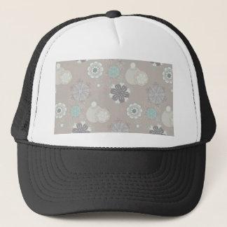 Retro Wedding Customizable Pattern Trucker Hat