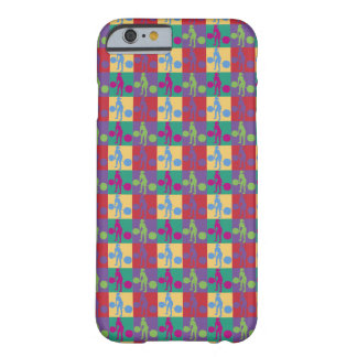 Retro Weight Lifting - Barely There iPhone 6 Case