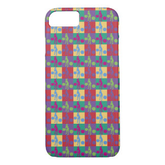 Retro Weight Lifting - iPhone 7 Case
