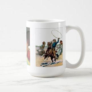 Retro Western Mug 1